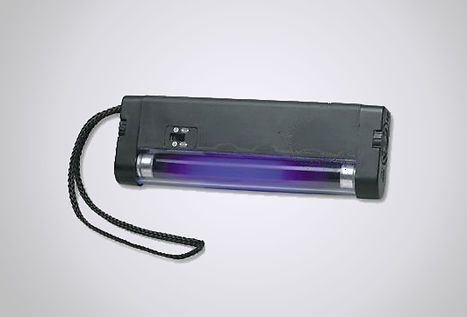 LW-UV longwave Ultra Violet Light (Fluorescent Paper Detector)